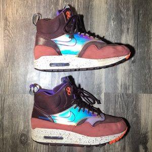 28c172fadb Nike Shoes | Air Max 1 Mid Sneakerboot | Poshmark